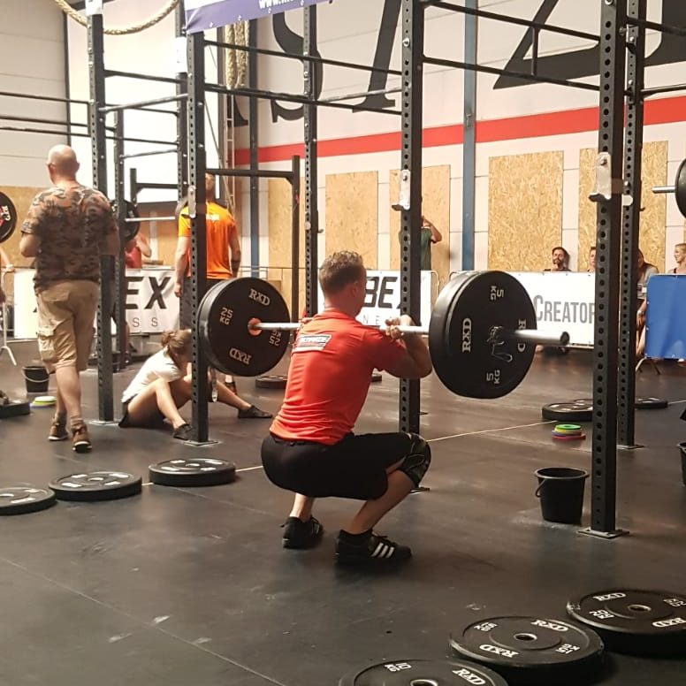NK functional fitness squat complex